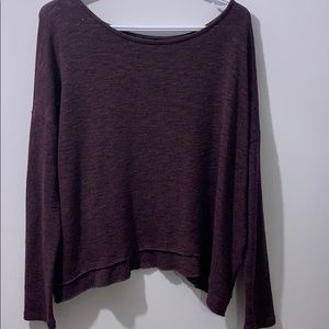 Mauve sweater